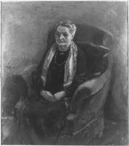 Portret van de moeder van de kunstenaar