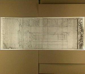 Pilaster met entablatuur