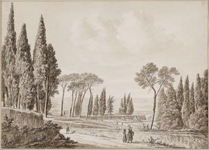 De tuinen van de Villa d'Este in Tivoli