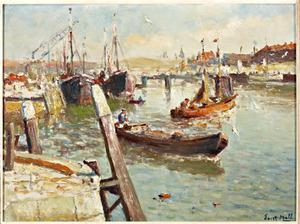 De haven van Scheveningen