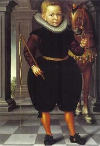 Portret van een jongen, mogelijk Sieuwert Heynsius (1603-1652)