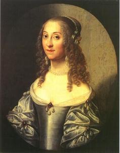 Portret van Anna Elisabeth van Lokhorst ( -1652)