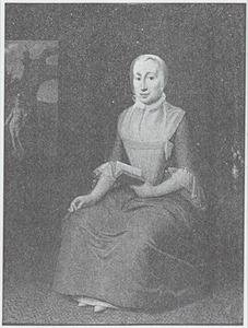 Portret van Geertrui Haaxman (1711-1775)