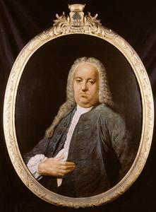 Portret van Salomon Focke ( -1767)