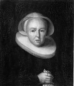 Portret van Lijsbeth Hendricksdr. Haeck (1559-1638)