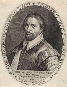 Portret van Frederik IV keurvorst van de Palts (1574-1610)