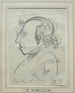 Portret van Alexander Schmuller (1880-1933)
