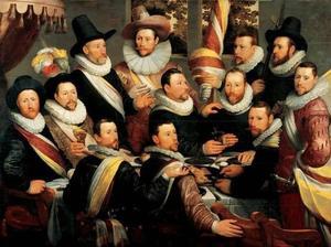 De maaltijd van de officieren van de Oude Schutsdoelen