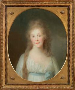 Portret van Louise von Mecklenburg-Strelitz (1776-1810) als kroonprinses van Pruisen