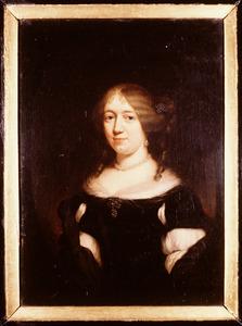 Portret van Anna de Neve ( -1707)