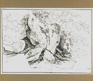 Rotsformatie in de omgeving van Roccantica