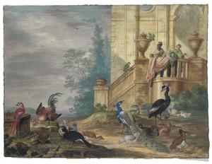 Vogels voor een landhuis