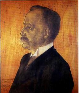 Portret van Lambertus Jacobus Veen (1863-1919)