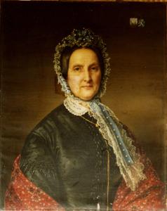 Portret van Theodora Sophia Frederica Knibbe (1796-1873)