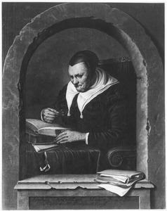 Portret van Fijtgen Heymansdr. van Melisdijck op 80-jarige leeftijd