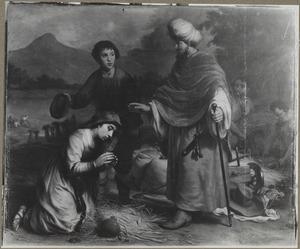 Boaz hoort zijn dienaar uit over Ruth (Ruth 2:1-4)