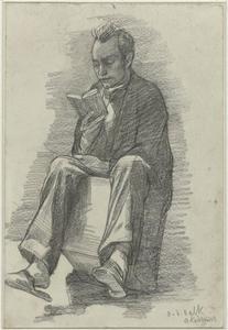 Portret van Maurits Willem van der Valk (1857-1935)