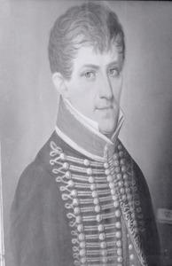 Portret van Johannes Bieruma Oosting (1786-1829)