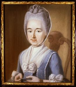 Portret van Cornelia Anna van der Wall ( -1778)