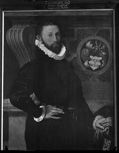 Portret van Jacob Huygensz. Gael (1552-1631)