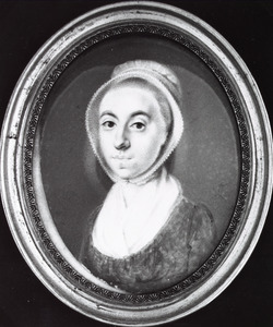 Portret van een onbekende vrouw