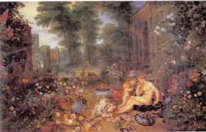 Allegorie van de reuk