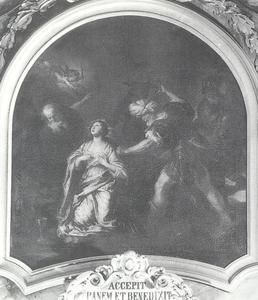 De marteling van de heilige Barbara
