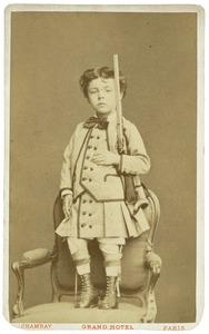 Portret van Louis Hendrik Jan van der Vliet (1871-1888)