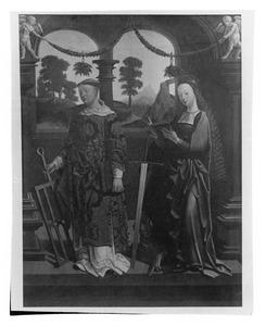 De HH. Laurentius en Catharina