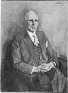 Portret van Johan van de Kieft (1884-1970)
