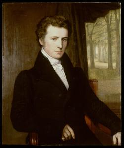 Portret van Lambertus Dorhout (1802-1864)