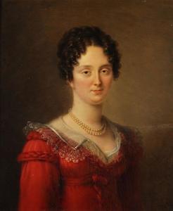 Portret van Anna Josina van der Pot (1792-1867)