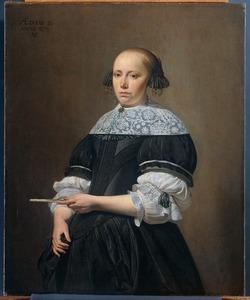 Portret van Elisabeth Kessel (1640-1717)