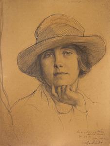 Portret van Alice Jacqueline Hortense Julie Amelie de Stuers (1895- )