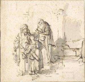 De wegzending van Hagar en Ismael