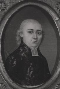Portret van Jan Isaak Rauwertz Tichler ( -1812)