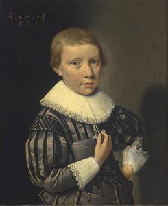 Portret van een 7-jarige jongen