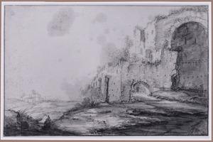Ruïnes van de thermen van Diocletianus in Rome