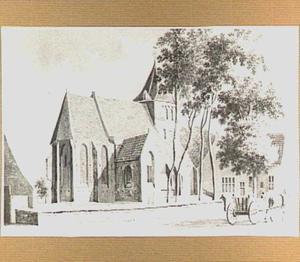 De hervormde kerk te Well, gezien vanuit het noordoosten