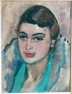 Portret van Ina van Blaaderen (1912-1997)