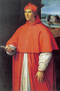 Portret van kardinaal Alessandro (I) Farnese, de latere paus Paulus III (1468-1549)