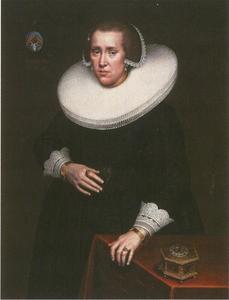 Portret van Margarethe Eelking