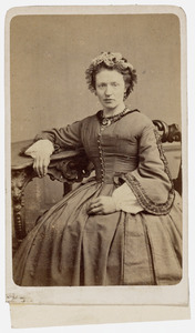 Portret van Geertje de Wilde (1833- )