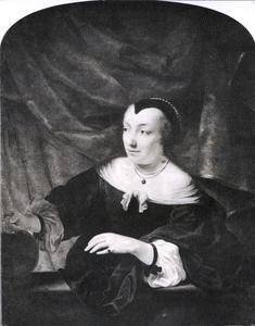 Portret van Lysbeth Dell (1628-1669)