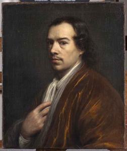 Zelfportret van Wallerand Vaillant (1623-1677)