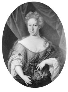 Portret van mogelijk Agatha Maria van der Goes (1679-1700)
