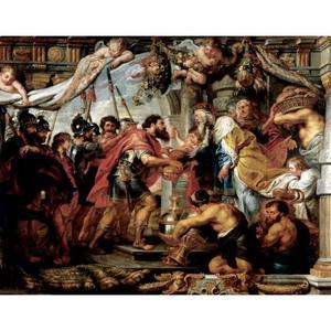 Abraham en Melchisedek (Genesis 14:18-20)