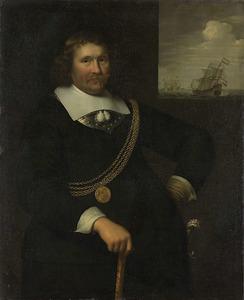 Portret van Jan Cornelisz. Meppel (....-1669)