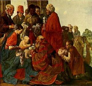 Aanbidding der Wijzen