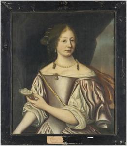Portret van Rixt Anna van Cammingha (1641-1712)
